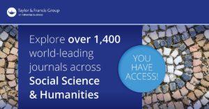 Nová databáza – TAYLOR & FRANCIS SOCIAL SCIENCE & HUMANITIES