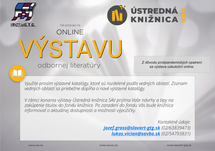 online vystava SAV-1